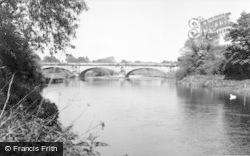 Llanymynech, The Bridge c.1960