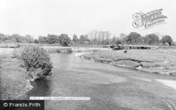 Llanymynech, The River Vyrnwy c.1960