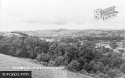 Llanymynech, The View From Bryn Mawr c.1960
