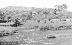Llanymynech, View From The River Bridge c.1960