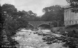 Llanystumdwy, Bridge And The River Dwyfawr 1931