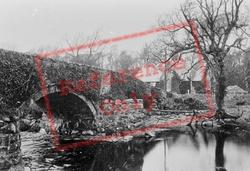 Church And Bridge 1889, Llanystumdwy