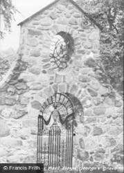 Llanystumdwy, Earl Lloyd-George's Grave c.1955