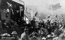 Llanystumdwy, Lloyd George Opening The Village Institute 1911