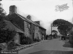 Llanystumdwy, Lloyd George's Home In His Boyhood Days 1925