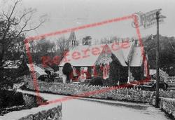 St John The Baptist's Church, East 1889, Llanystumdwy
