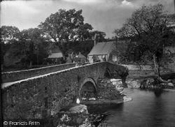 Llanystumdwy, The Bridge 1925