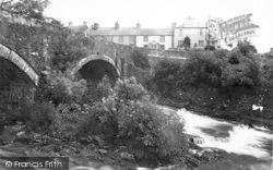 Llanystumdwy, The Bridge And The Lloyd George Museum c.1955