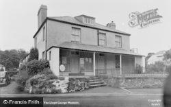 Llanystumdwy, The Lloyd George Museum c.1955