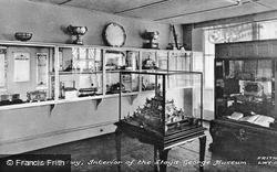 The Lloyd George Museum, Interior c.1955, Llanystumdwy