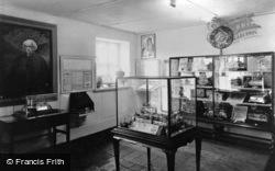 Llanystumdwy, The Lloyd George Museum, Interior c.1955