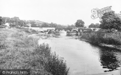 Llechryd, Bridge c.1930