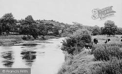 Llechryd, View From Cilgerran Footpath c.1955