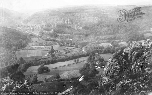 Photo of Lledr Valley, 1891
