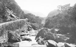 1892, Lledr Valley