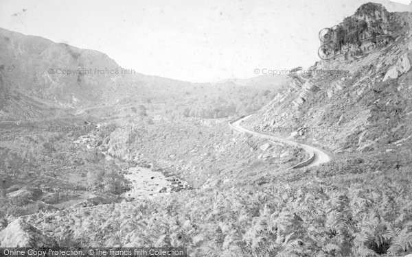 Photo of Lledr Valley, c.1874