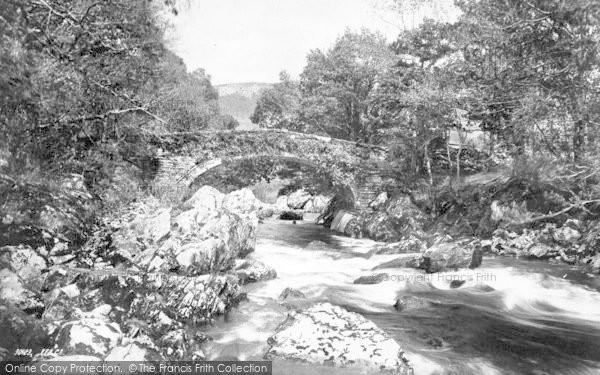 Photo of Lledr Valley, Pont Y Lledr 1892