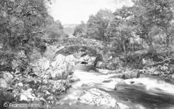 Pont Y Lledr 1892, Lledr Valley