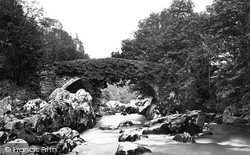 Pont Y Lledr c.1876, Lledr Valley