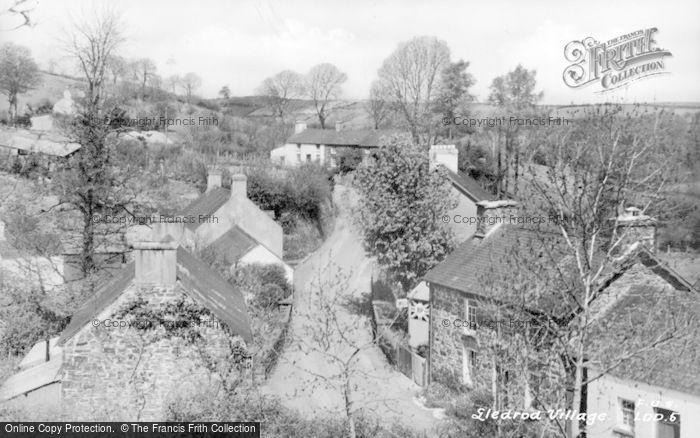 Photo of Lledrod, The Village c.1955