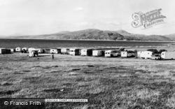 Llwyngwril, Borthwen Caravan Camp c.1960