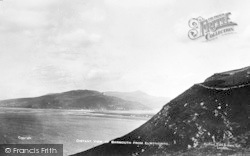Llwyngwril, Distant View Of Barmouth c.1930