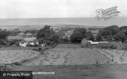 General View c.1955, Llwyngwril
