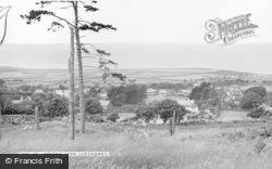 Llwyngwril, General View c.1955