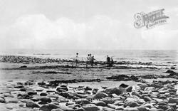 Llwyngwril, On The Beach c.1920
