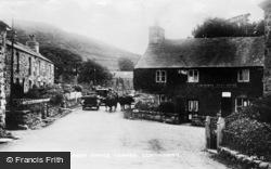 Llwyngwril, Post Office Corner c.1920