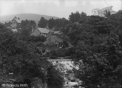 Llwyngwril, River Gwril And Falls c.1935