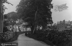 Llwyngwril, Shady Walk c.1935