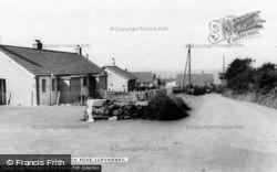 Llwyngwril, Station Road c.1960