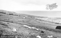 Llwyngwril, Sunfield Caravan Site c.1960