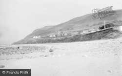 Llwyngwril, The Beach 1936
