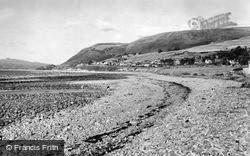 Llwyngwril, The Beach c.1960
