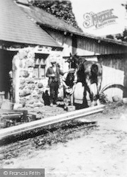 Llwyngwril, The Village Smithy c.1930