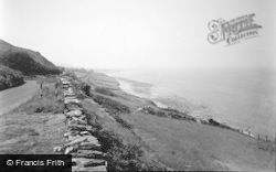 Llwyngwril, View From Heol Gai 1957