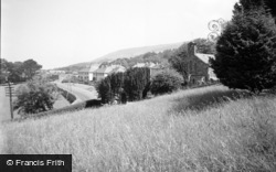 Llwyngwril, View From The Church 1957