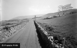 Llwyngwril, View From Towyn Road 1957