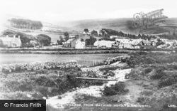 Llwyngwril, Village From Bathing Huts c.1920