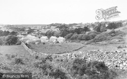 Llwyngwril, Village From The Gaer c.1936