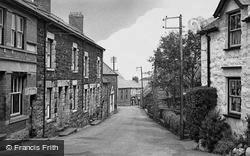 Llwyngwril, Village Street c.1955