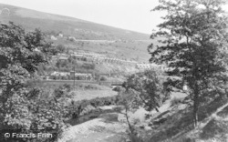 Llwynypia, A Glimpse Of The River c.1955