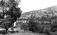 Llwynypia, from the New Road c1955