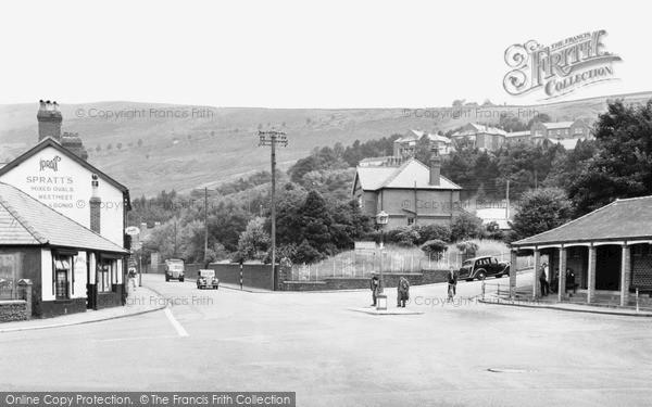Llwynypia, General view c1955