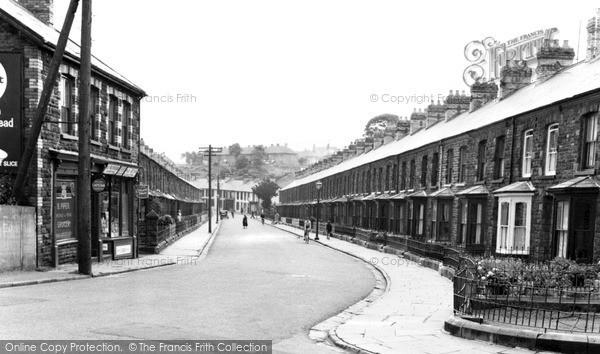 Llwynypia, Sherwood Street c1955