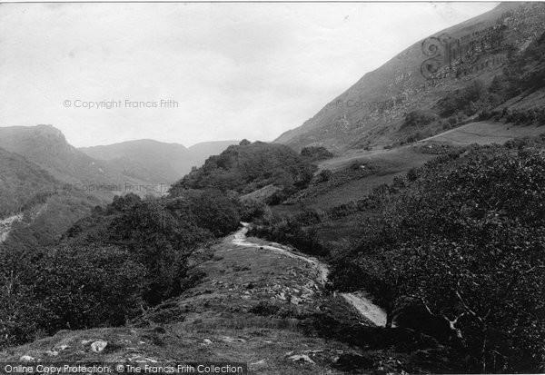 Photo of Llyfnant Valley, 1892