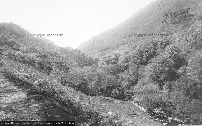 Photo of Llyfnant Valley, 1892