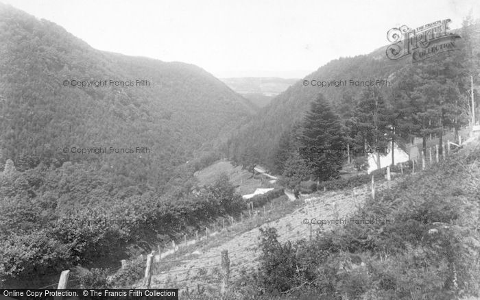 Photo of Llyfnant Valley, And Three Counties 1901